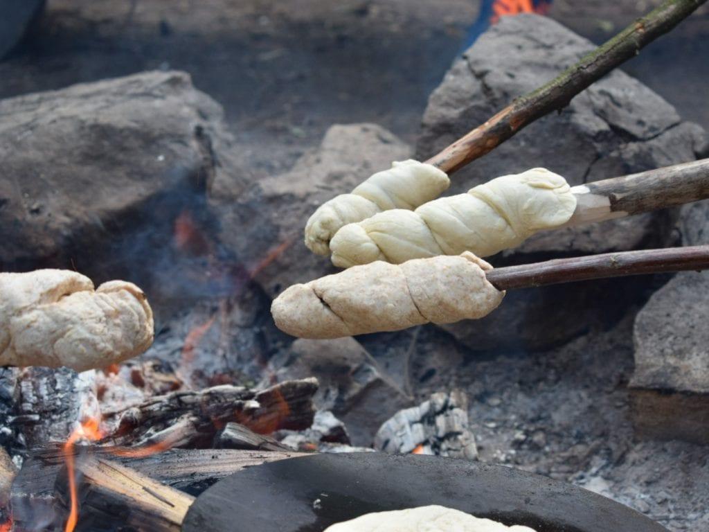 Modul Into the Wild- auch Lagerfeuerküche ist natürlich dabei!