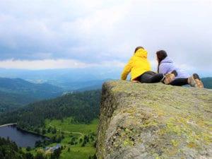 Back to basics bedeutet: Draußen sein und die Natur ganz bewußt wahrnehmen und beobachten