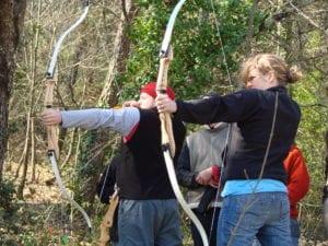 Bogenschiessen ist gleichermassen Herausforderung wie Spaß!