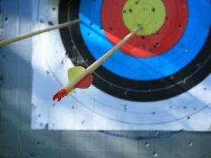Beim Modul Bogenschießen trainieren Sie den Focus zu halten