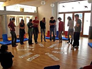 Der Enneagramm Tagesworkshop besticht durch Spaß und Austausch- und verblüffende Einsichten
