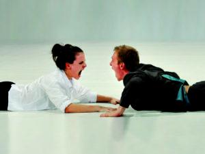Beim Improtheater werden verboirgene Talente und Kompetenzen zutage gefördert!