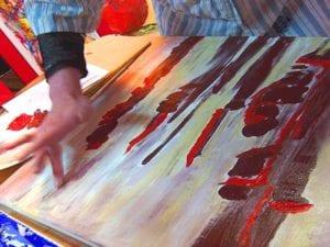 Intuitive Malerei verfolgt keinerlei künstlerische Vorschriften und Ziele