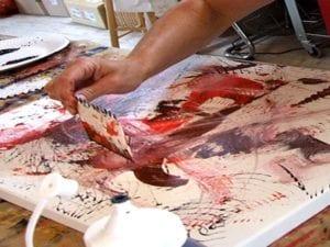 Entdecken Sie beim Modul intuitiven Malerei schlummernde künstlerische Potantiale in Ihnen!