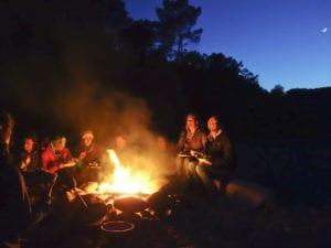 Im Idealfall endet der Tag der Praxis Erlebnispädagogik natürlich am Lagerfeuer!