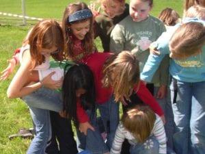 Die Praxis Erlebnispädagogik beinhaltet vor ALlem auch viel Spaß!