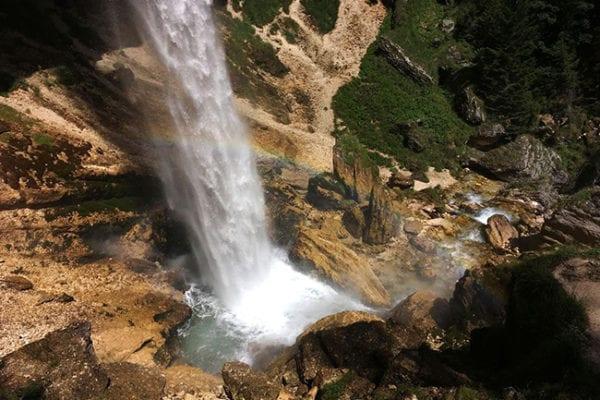 Wasserfall auf meiner erlebnisreichen Reise