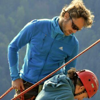 Klettern im schönen Donautal