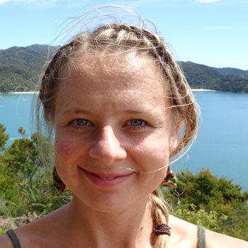 Daria Gonszcz ist Erlebnispädagogin bei N.E.W.