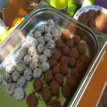 Leckeres Essen auf erlebnispädagogischen Klassenfahrten