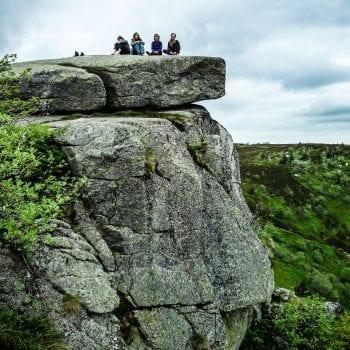 Eine Wanderung zum Taubenklangfelsen ist Höhepunkt unserer Klassenfahrt in die Vogesen und ein wichtiger Programmpunkt